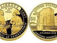 2007 Jamestown 400th Anniversary Proof $5 Gold Coin