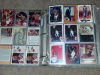 I have a Basketball card collection that I have been