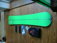 Selling my Burton S-Series 168. Had it 3 years, but