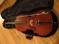 This is a brand new Palatino cello with padded bag and