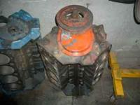 Standard bore, needs rebuilding. The blue block to the