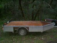 I have a raft trailer that is good for rafts up to 18ft
