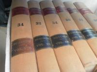 400 Leather and hardcover lawyer books some sets some