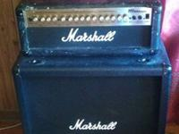 Marshall MG100HDFX head (bought used) and MG412B cab
