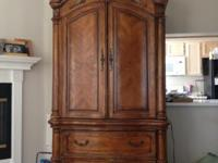 I have beautiful armoire dresser for sale in new