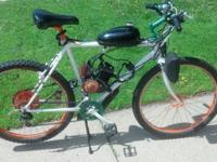 I have a motorized bicycle for sale. Has been running