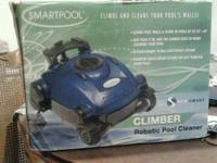 selling a like new Smartpool Robotic Cleaner. have only