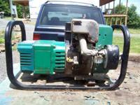 Maxa Power Mate 4000 watt generator, Tecumseh 8 H. P.