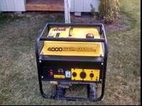 Very nice generator 4000 watts peak 3500 running very