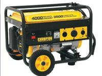 Up for sale are 2 x 3500 / 4000 Watt Portable