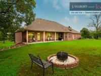 Sensational home on 5 gorgeous acres. Custom-made house