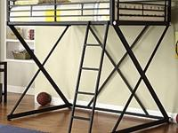 I have a Powell Z full size metal loft bed with the