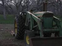 I Have 4020 John Deer Tractor With Front end loader