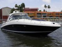 2008 Sea Ray 44 SUNDANCER This gorgeous blue hull boat