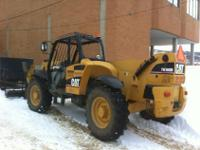7000 lb. lift capacity, 4 wheel drive, good condition