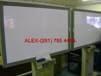 Used Panasonic dry erase board with built in