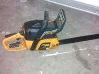 Nice Chainsaw not sure on working condition but good