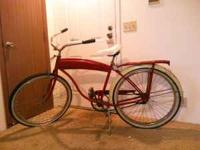 I have a 1940s Schwinn BF Goodrich. It is ridable and