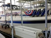 Please call owner Robert at . Boat is in Branson,