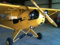 1946 Piper J3 Cub, 65hp, new panel, new gas tank, new