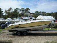 For sale is a Hydra Sports 24? center console. This is