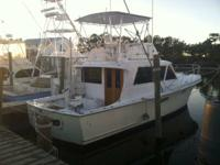 41 Hatteras. Diesel. 8v53 N motors. Run excellent. Low