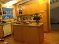 A single story three bedroom, two bath house located in