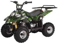 This mini sport model 110cc 410BX four-wheeler is