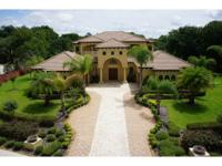 STUNNING CUSTOM ESTATE ~ on 1+ ACRE, PRIVATE LOT with