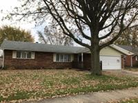 Very nice 3 bedroom, 1 and 1/2 bath brick ranch home