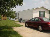 1 year old, 2010 Clayton Mobile Home. 16x80, 3 bedroom,