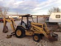 good working cat 416 b backhoe 18,500.00,........ also