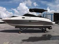 2008 Sea Ray 240 SUNDECK ONLY 85 HOURS on 5.0L MPI BR3