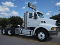 2006 Sterling AT 9500 Tandem Daycab, 204,952 Miles,