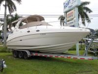 Just in 2002 Sea Ray 280 Sundancer powered by twin 4.3