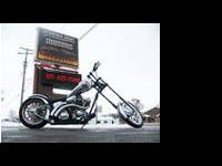 This incredible chopper was custom designed and