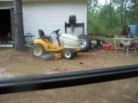 This Mower is maybe 10 year's old but it is strong and