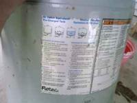 This is a Flotec 42 gallon equivalent precharged water