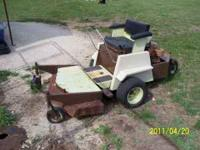 MODEL 1200 42''DECK $575.00 OBO BRIGGS AND STRATTON
