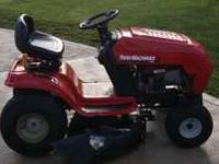 Up for sale I have a MTD Yard Machine 42in riding lawn