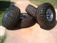 Text / Call  42 Inch Tires IROK Super Swampers 14 Inch
