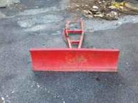 42 inch wheelhores, toro snow plow. Needs some work.