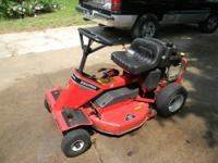 For sale: John Deere L118 riding lawn mower. New 42""