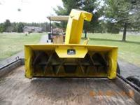 "42"" snowblower in good cond. I am selling it because it"