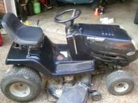 "For sale 42"" Murray riding mower 16.5 hp. Just moved"