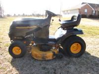 "18.5 Briggs Motor 42"" Cutting Deck Hydro Trans Mower"