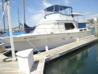 "Accommodations ""Sea Bird"" is a Three Cabin model. Enter"