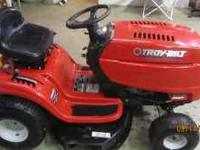 This mower has a 17.5hp OHV Briggs and Stratton motor