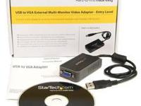 StarTech.com USB to VGA Multi Monitor External Video