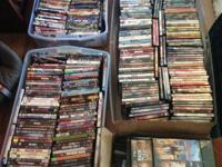 420 DVD movies - less than $1/movie. Must buy all.